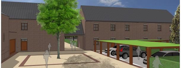 0006 Construction de 4 maisons sur les traces de la ferme Berleur