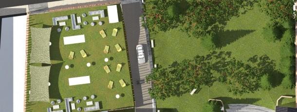 0019 Réaménagement du parc et des écuries de l'hôtel de ville