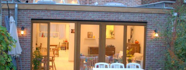 Extension et rénovation d'une maison