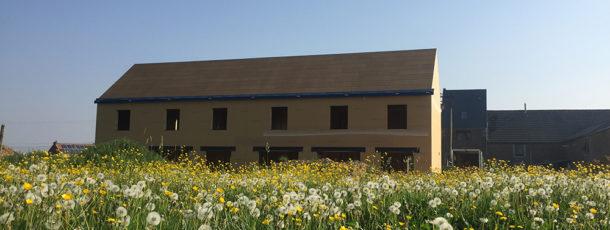 Construction de 4 maisons sur les traces de la ferme Berleur