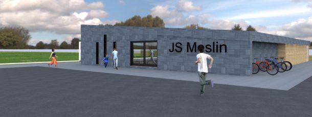 Buvette et vestiaire du football club de Meslin