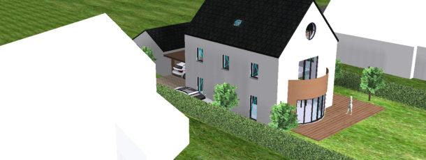 0063 Nouvelle maison et profession libérale Scorier