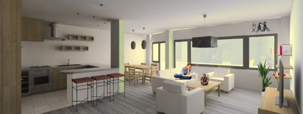 Rénovation d'un appartement Engelbeen